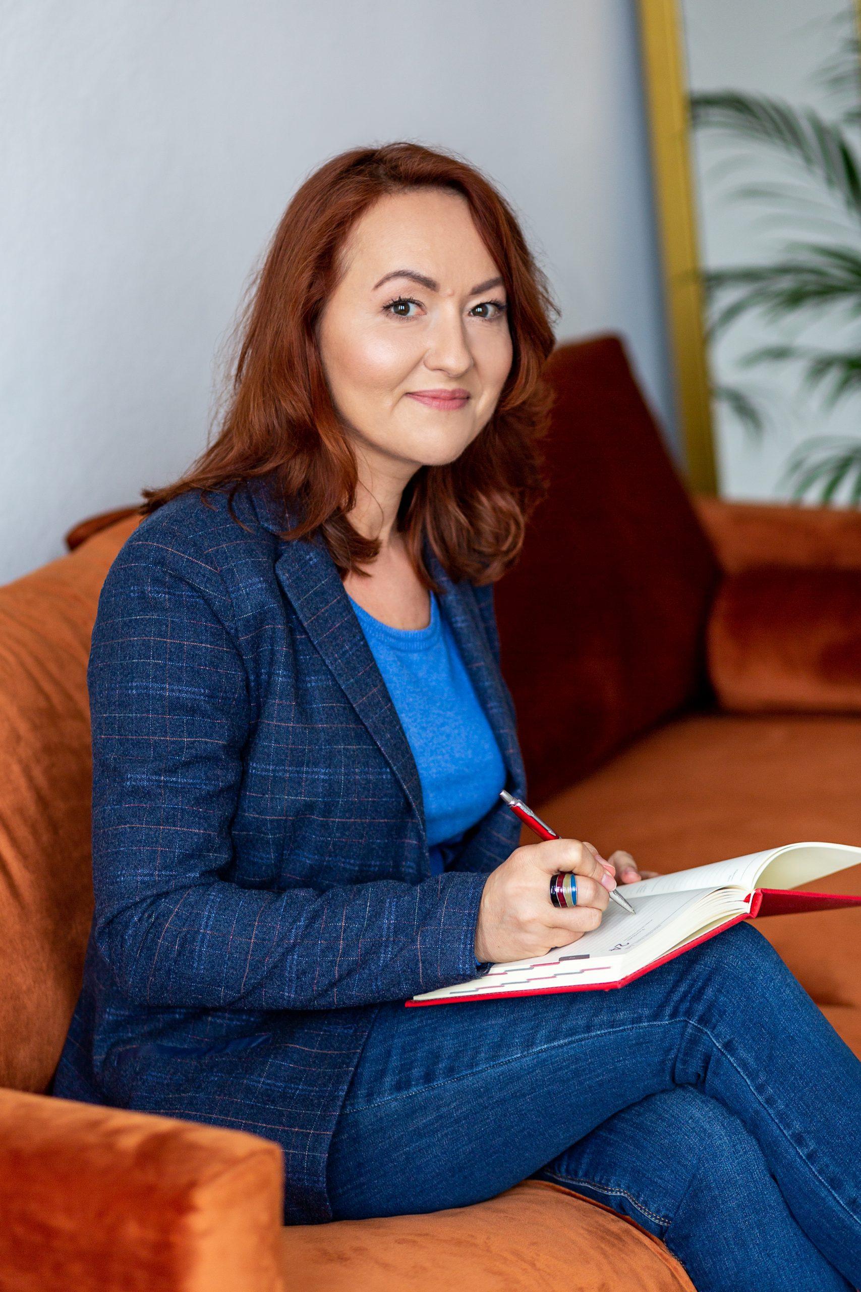 Zdjęcie przedstawia Annę Witkiewicz coacha kariery